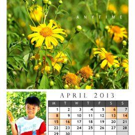 AnYtime Calendar 2013::foRest