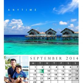 AnYtime Calendar 2014::Sea Sun See Son
