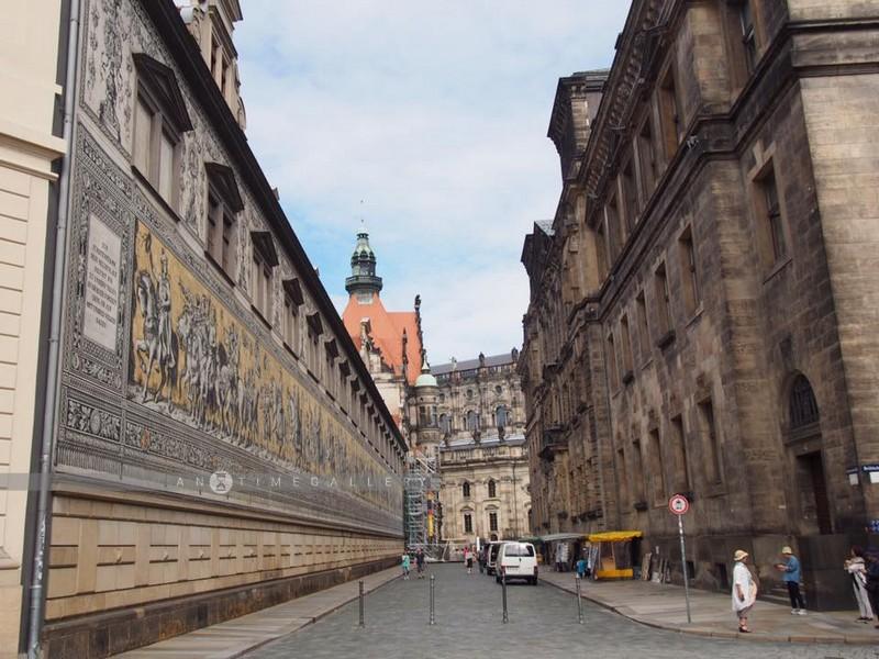 สำรวจ Alstadt ย่านเมืองเก่าที่ Dresden (Parents Duo Trip, June 16)